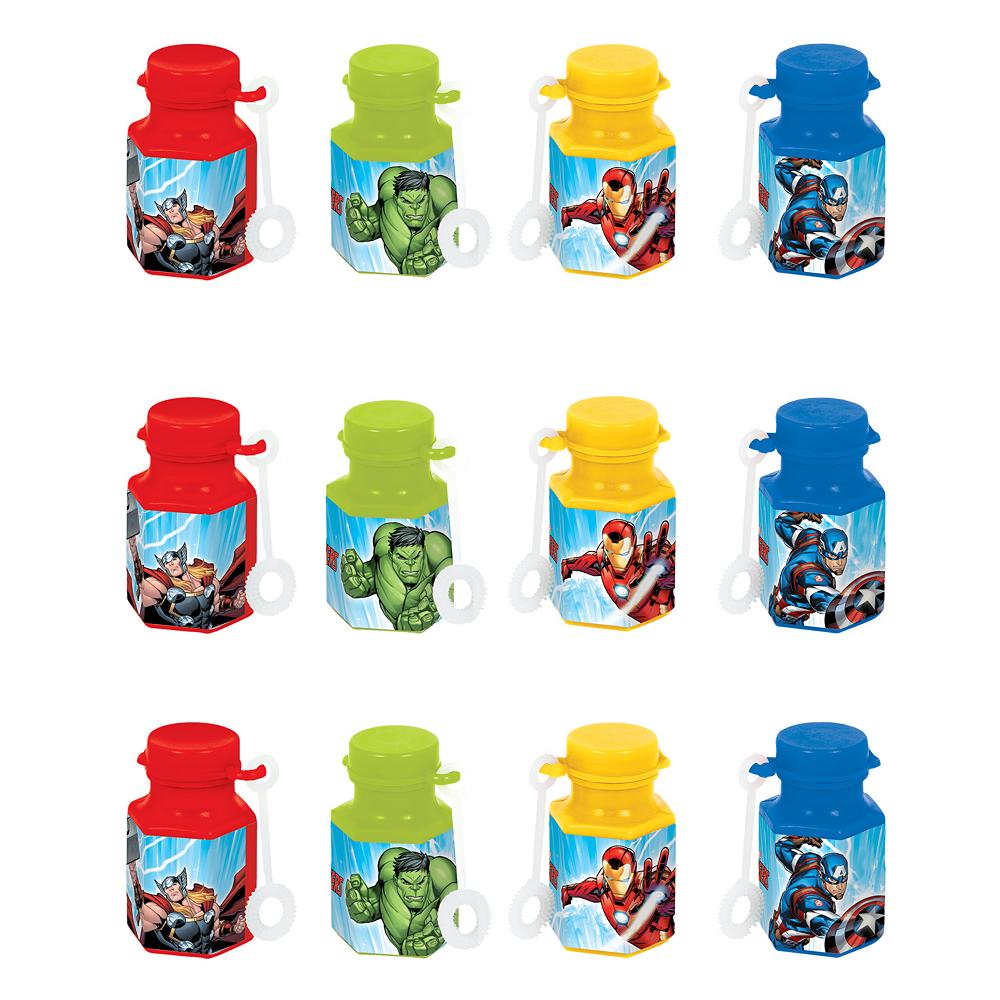 Avengers Mini Bubbles 12ct Image #1