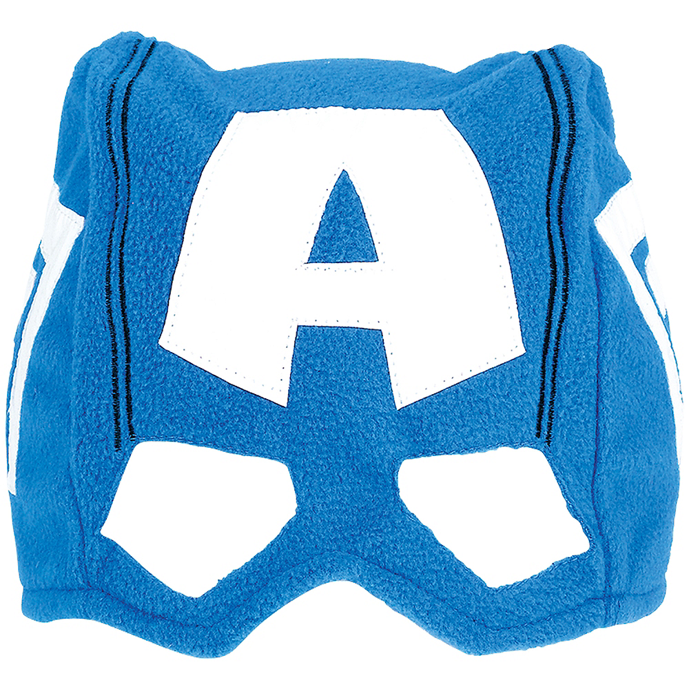 Child Captain America Mask Hat Image #1