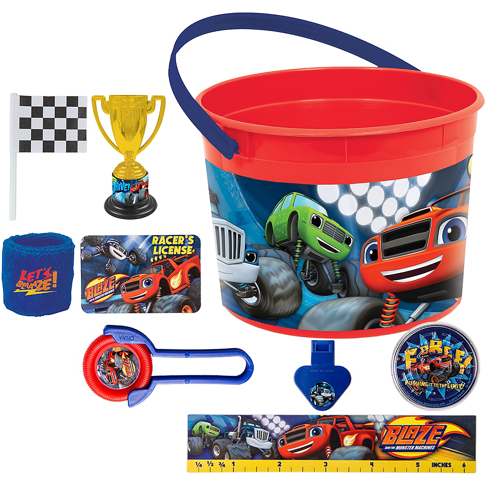 Blaze and the Monster Machines Ultimate Favor Kit for 8 Guests Image #1