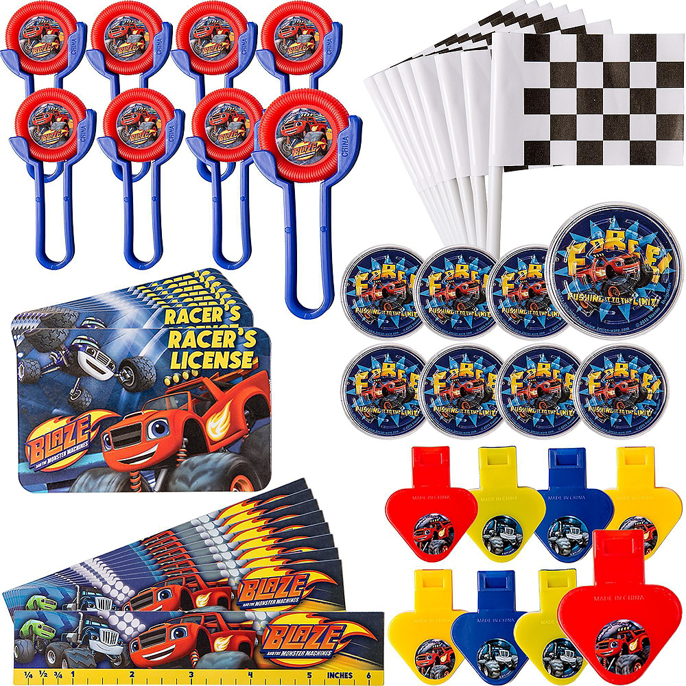 Blaze and the Monster Machines Ultimate Favor Kit for 8 Guests Image #2