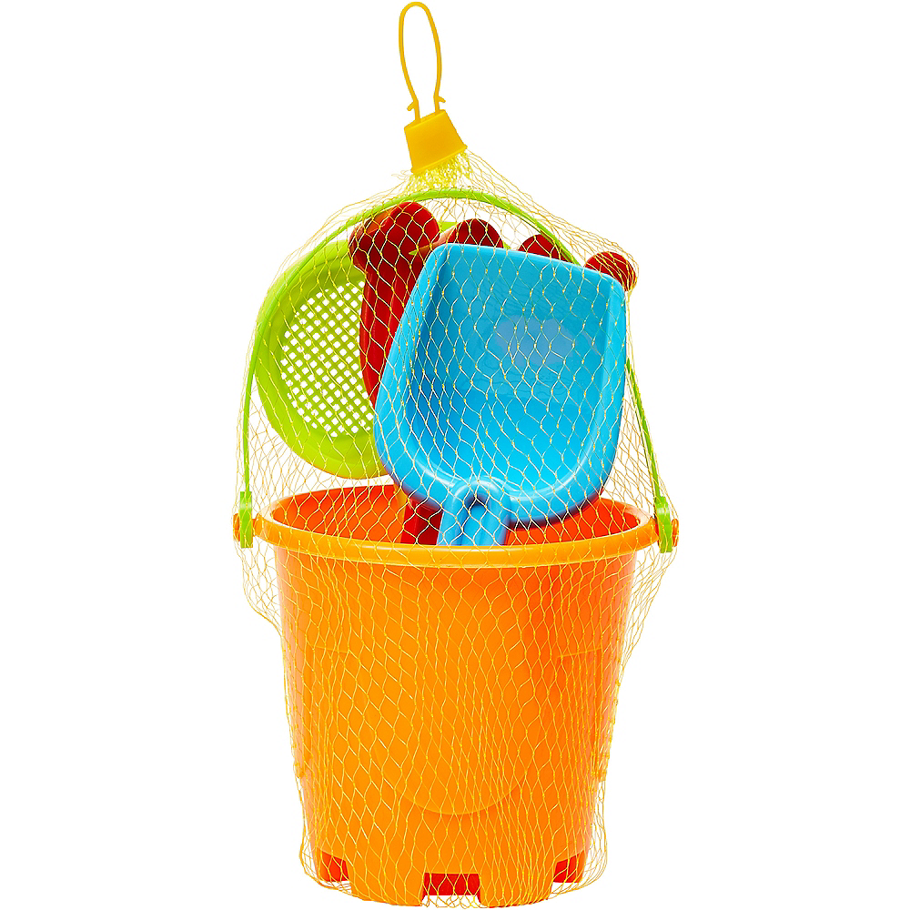 Nav Item for Sand Bucket Beach Toy Set 4pc Image #2