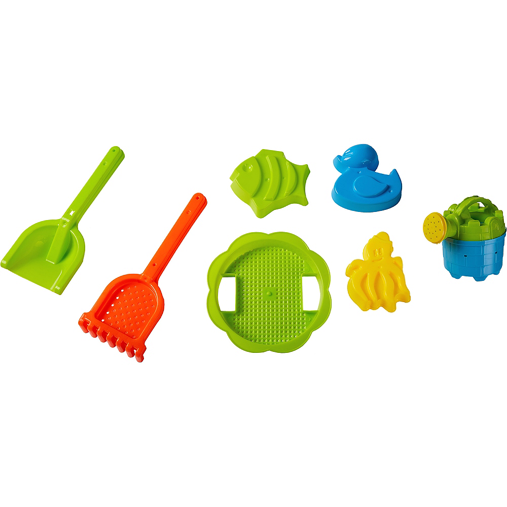 Nav Item for Sand Bucket Beach Toy Set 8pc Image #2