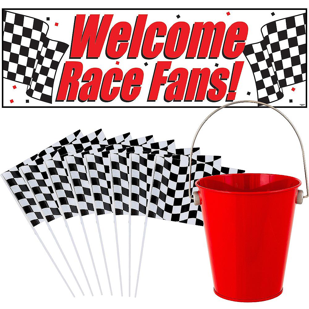 Car Racing Checkered Flag CP Kit Image #1