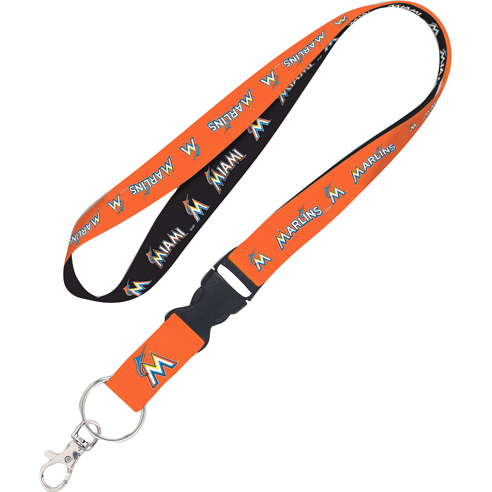 Nav Item for Miami Marlins Lanyard Image #1