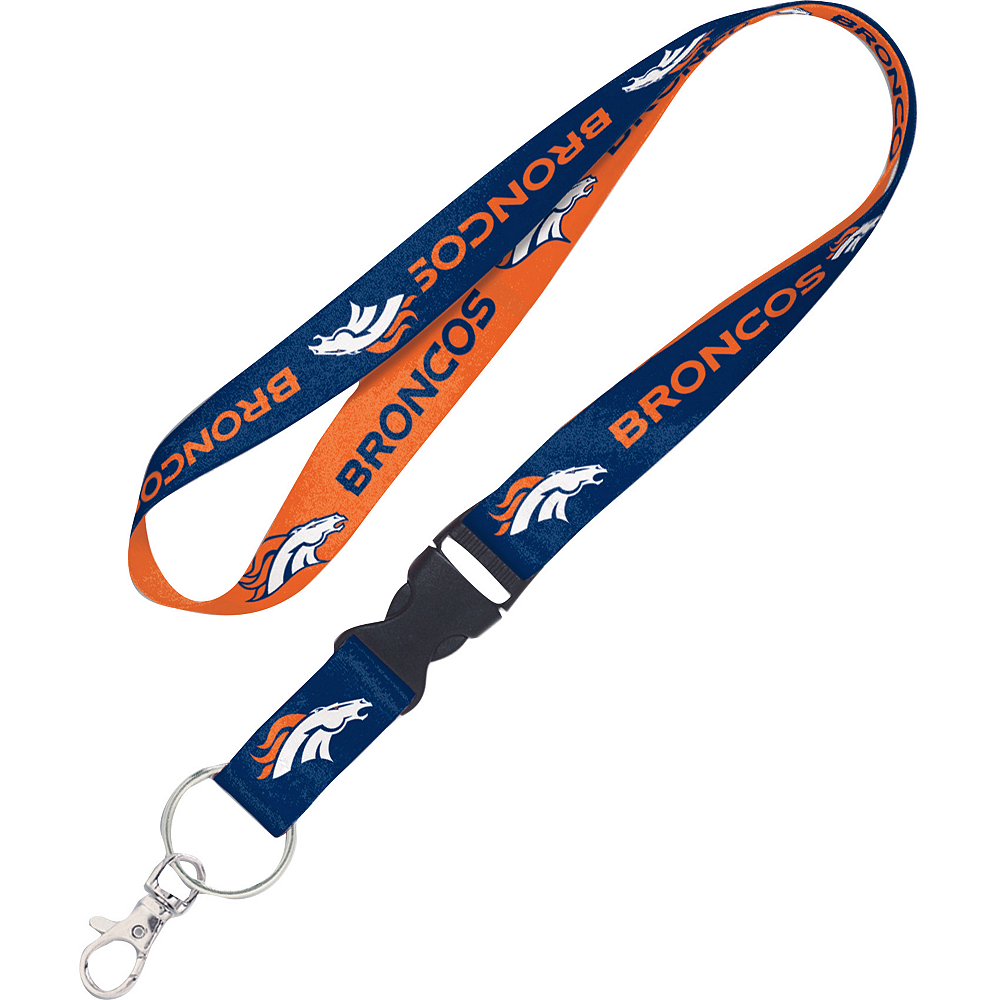 Nav Item for Denver Broncos Lanyard Image #1