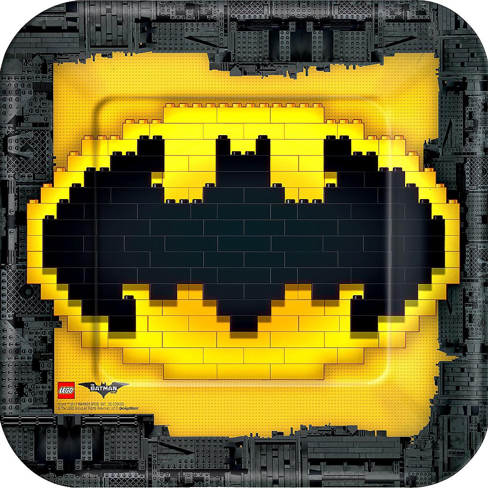 Lego Batman Movie Lunch Plates 8ct Image #1