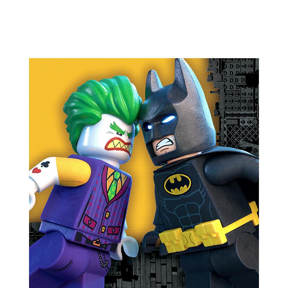 Lego Batman Movie Lunch Napkins 16ct Image #1