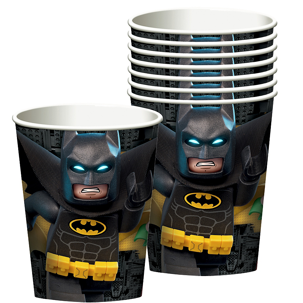 LEGO Batman Movie Cups 8ct Image #1