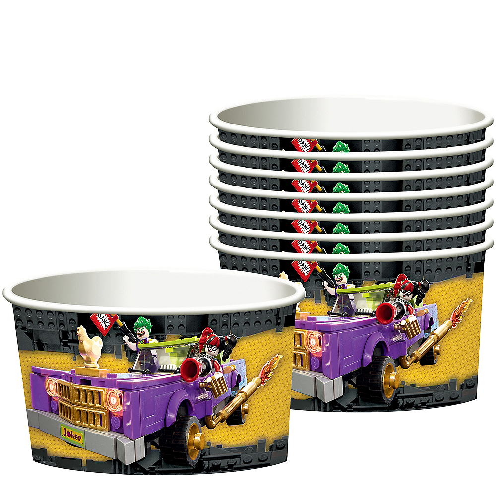 Lego Batman Movie Treat Cups 8ct Image #1