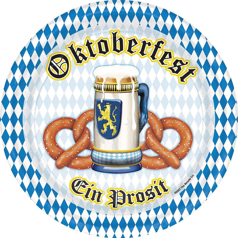Oktoberfest Tableware Kit for 16 Guests Image #2