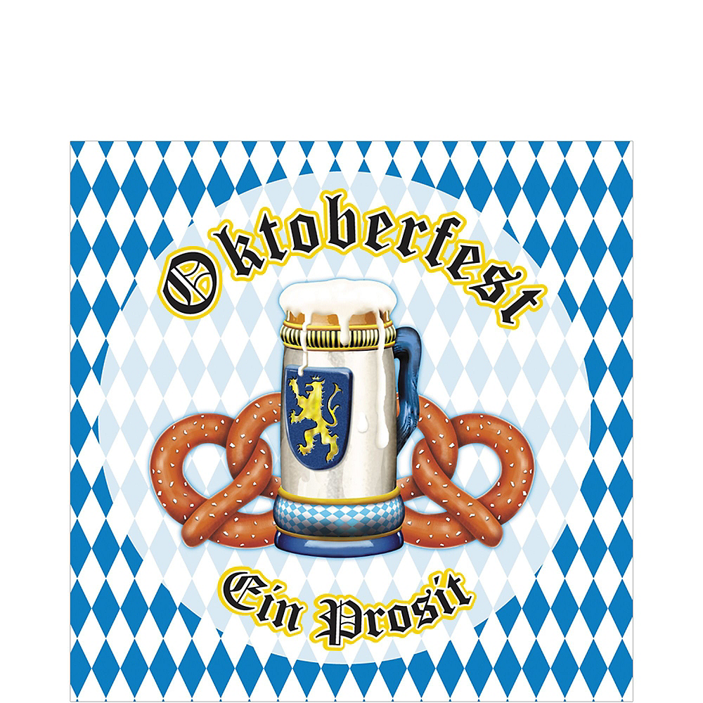 Oktoberfest Tableware Kit for 16 Guests Image #3