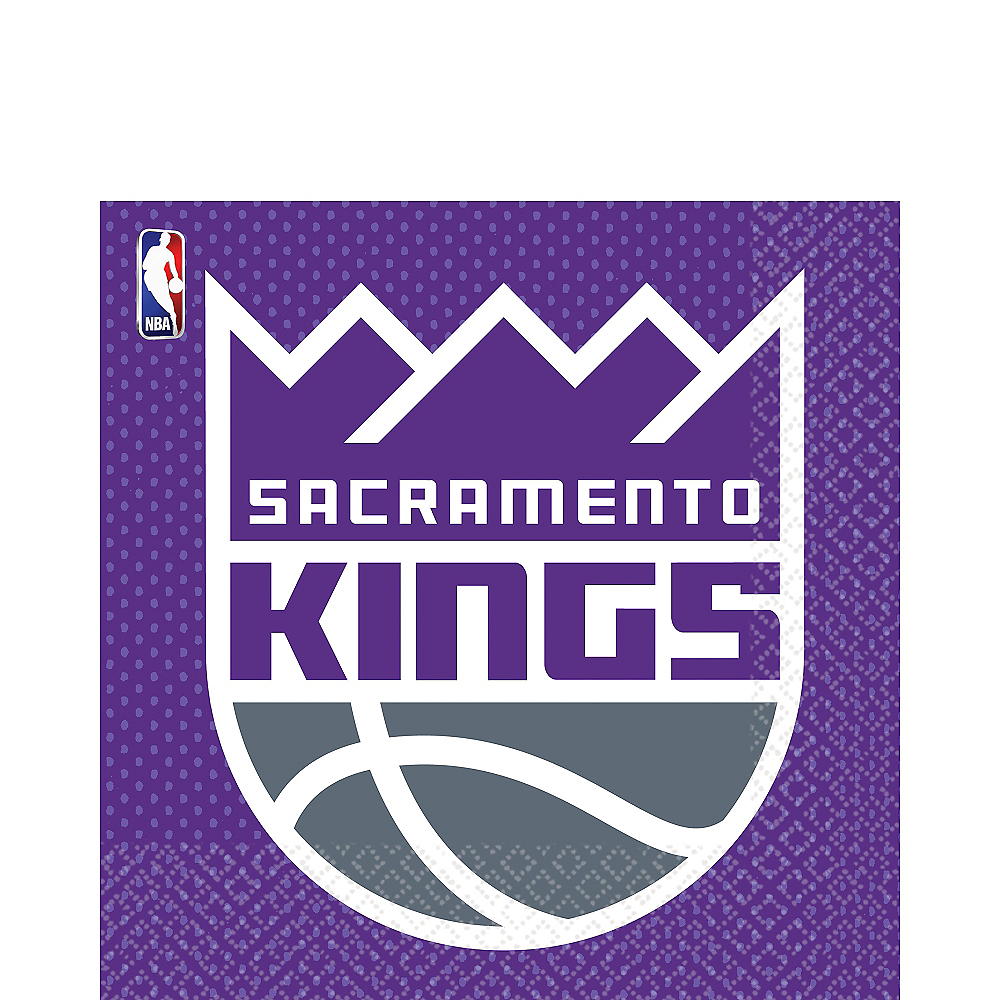 Sacramento Kings Lunch Napkins 16ct Image #1