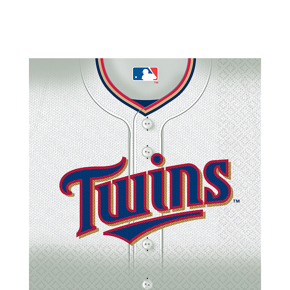 Nav Item for Minnesota Twins Lunch Napkins 16ct Image #1
