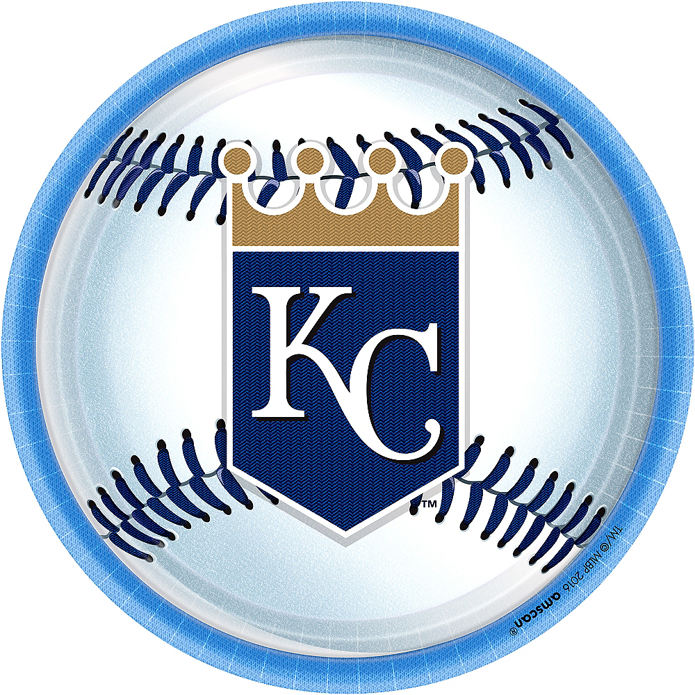 Kansas City Royals Lunch Plates 8ct Image #1