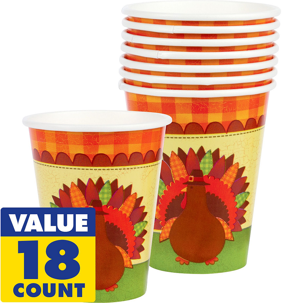 Turkey Dinner Tableware Kit for 36 Guests Image #6
