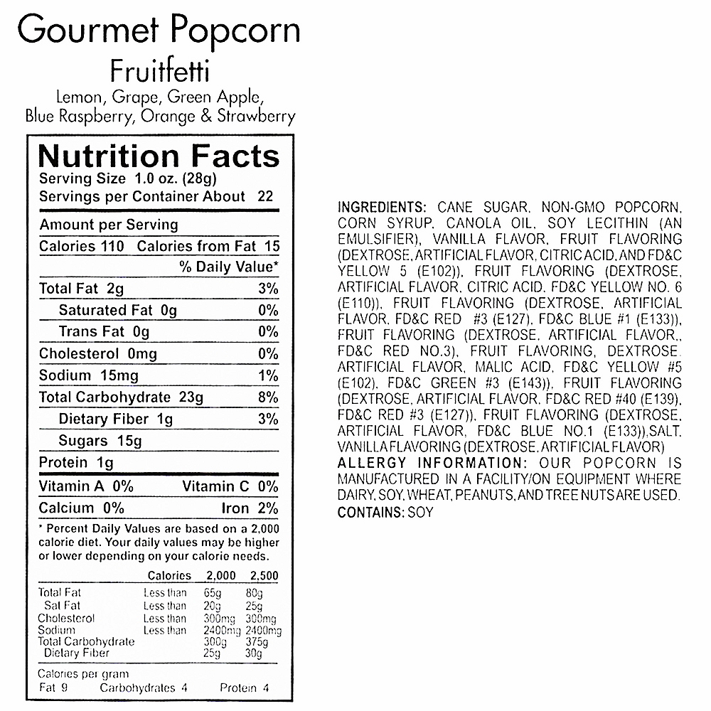 Nav Item for Fruitfetti Gourmet Popcorn Image #4