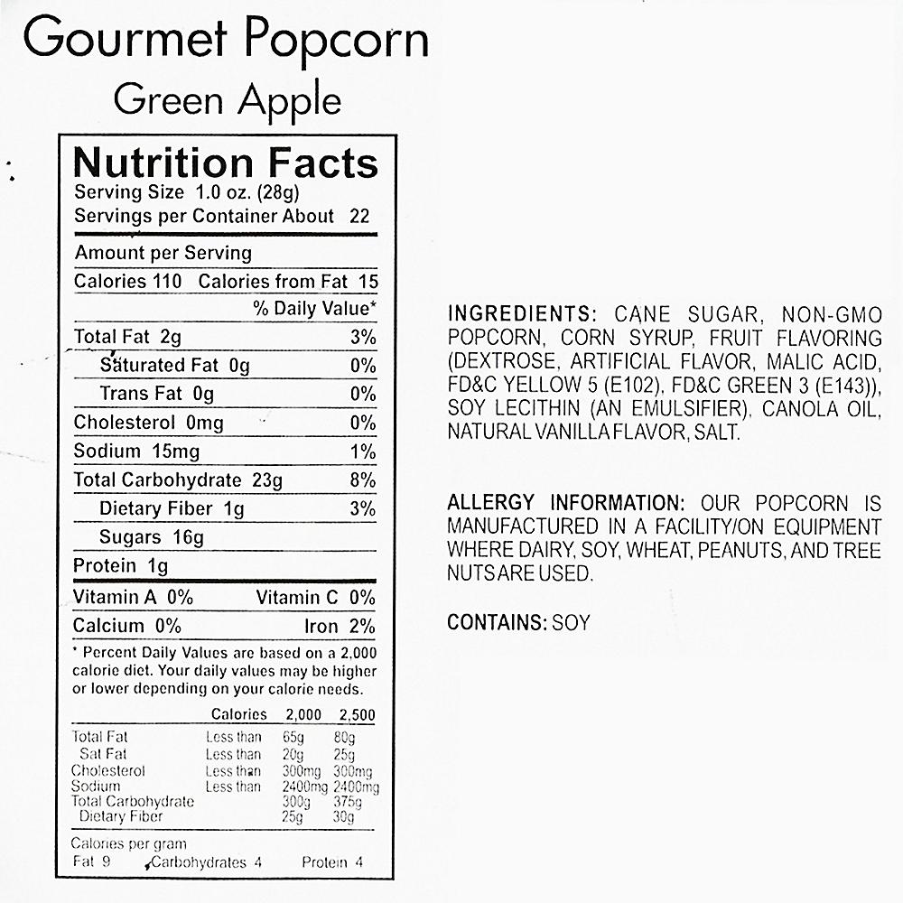 Green Apple Gourmet Popcorn Image #4