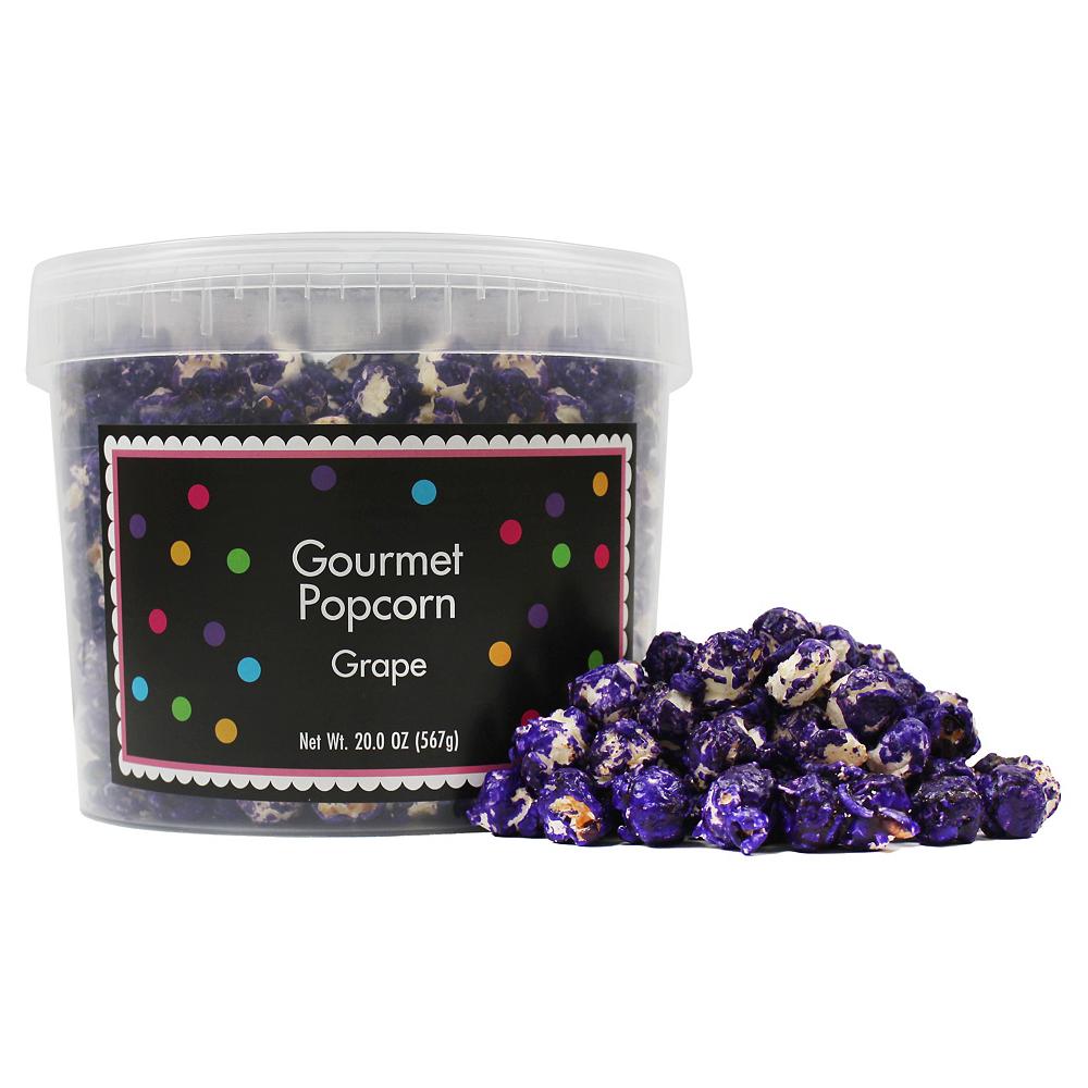 Grape Gourmet Popcorn Image #1