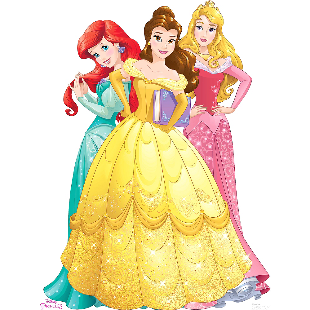 Disney Princess Life Size Cardboard Cutout 45in X 65in Party City