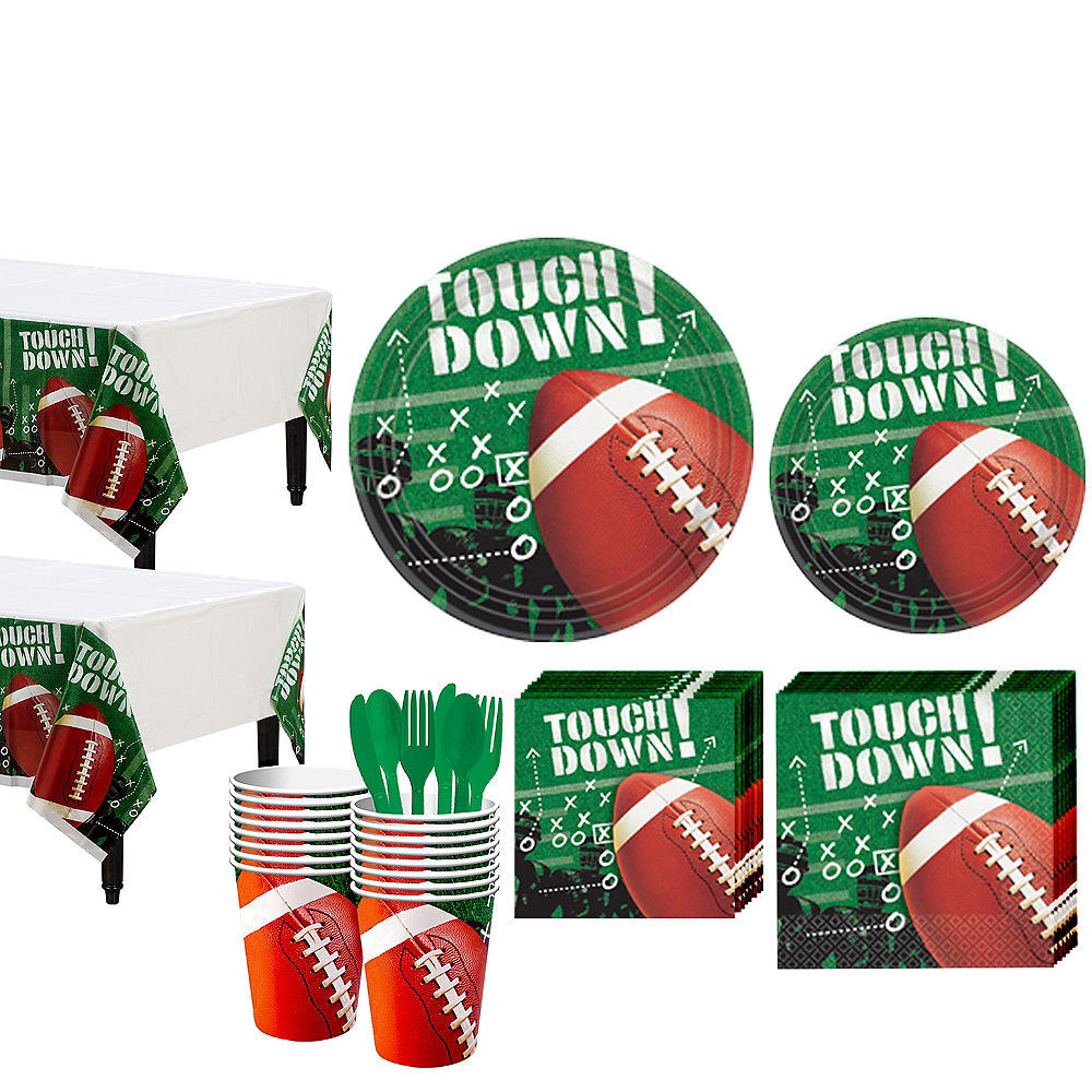 Football Frenzy Value Pack Party Kit for 50 Guests Image #1