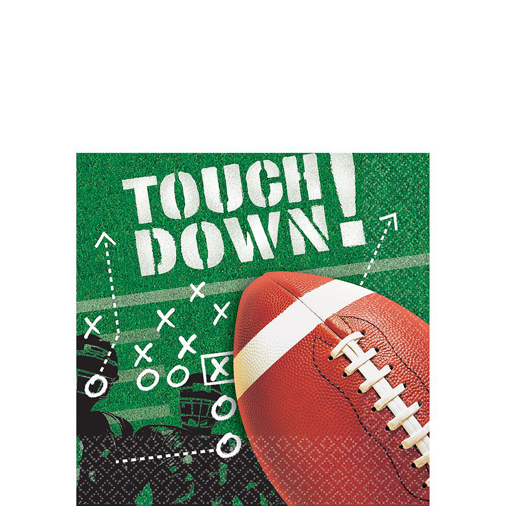 Football Frenzy Value Pack Party Kit for 50 Guests Image #4