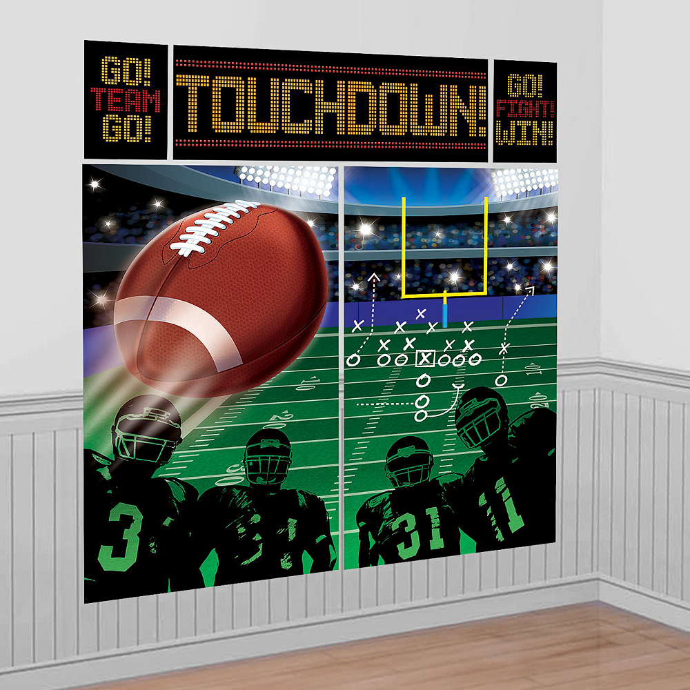 First Down to Touchdown Football Photo Booth Kit Image #3