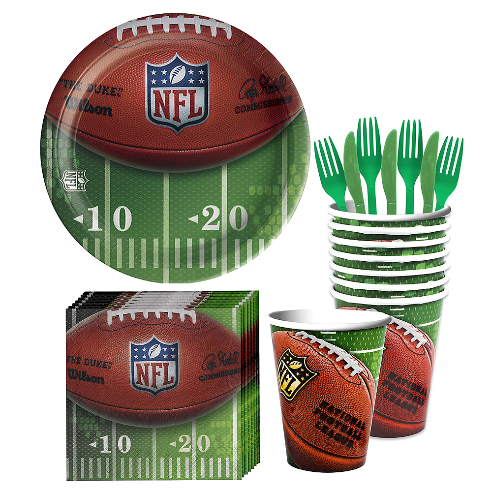 NFL Drive Party Kit for 18 Guests Image #1