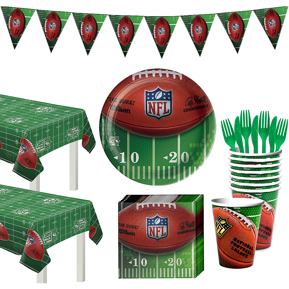 NFL Drive Deluxe Party Kit for 36 Guests Image #1