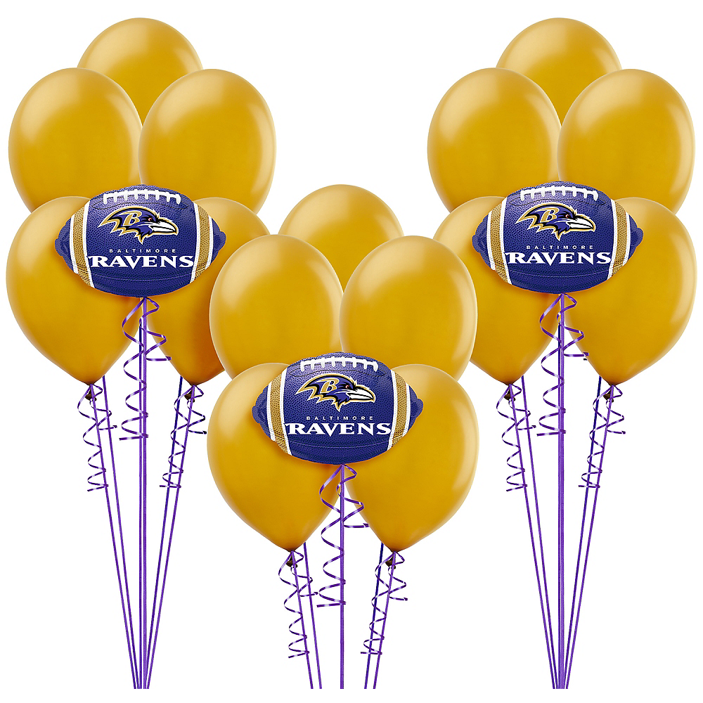 Baltimore Ravens Balloon Kit Image #1