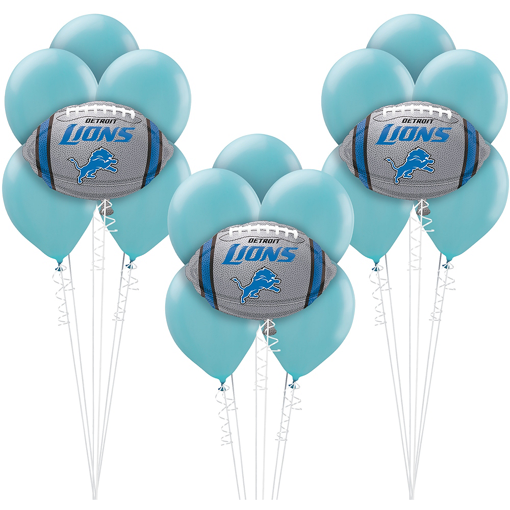 Detroit Lions Balloon Kit Image #1