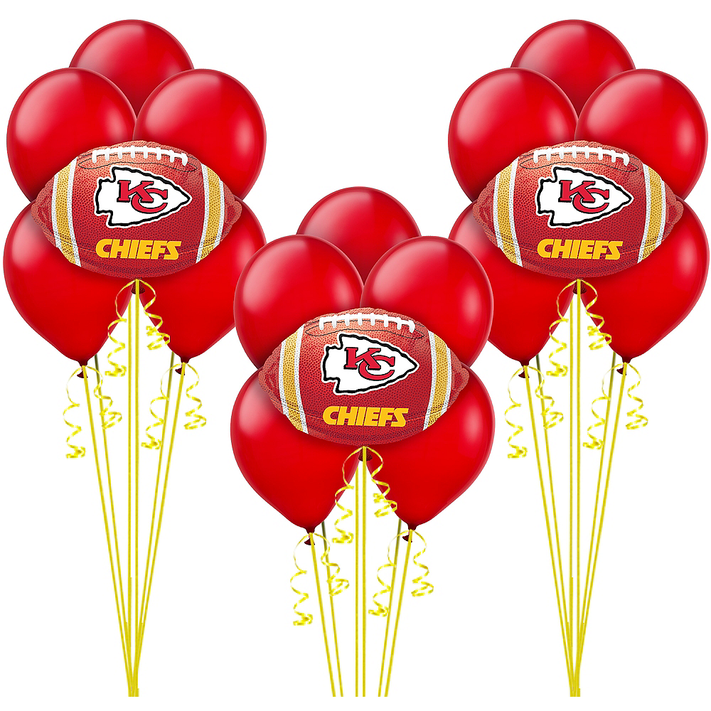 Kansas City Chiefs Balloon Kit Image #1