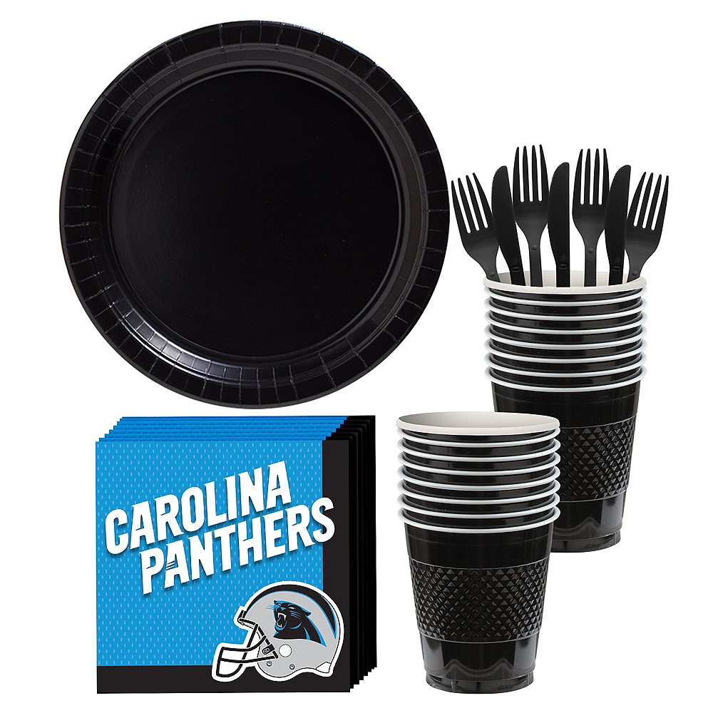 Carolina Panthers Party Kit for 18 Guests Image #1