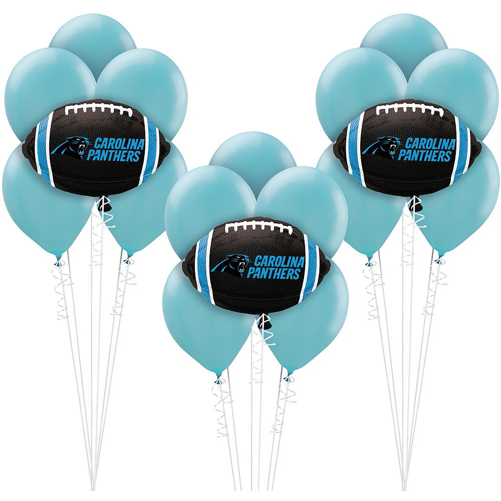 Carolina Panthers Balloon Kit Nfl Carolina Panthers