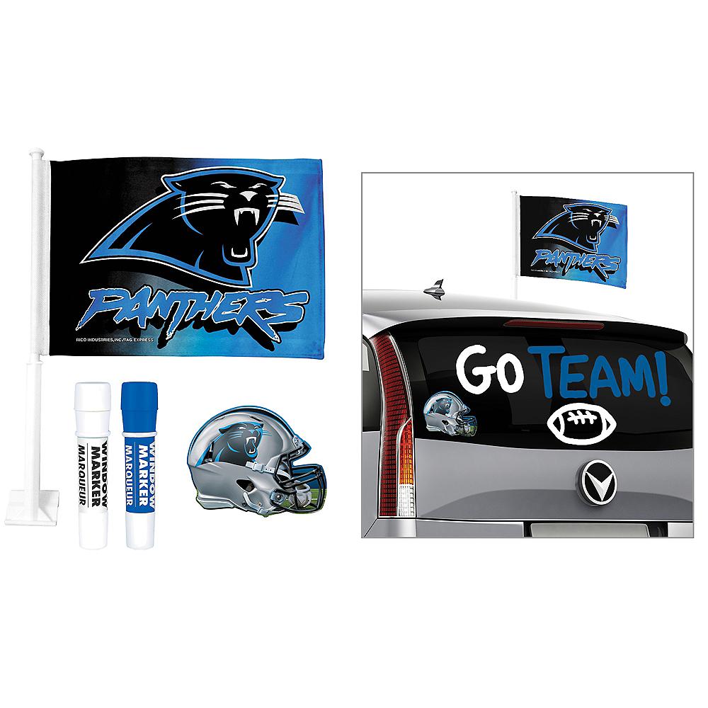 Carolina Panthers Car Decorating Tailgate Kit Image #1