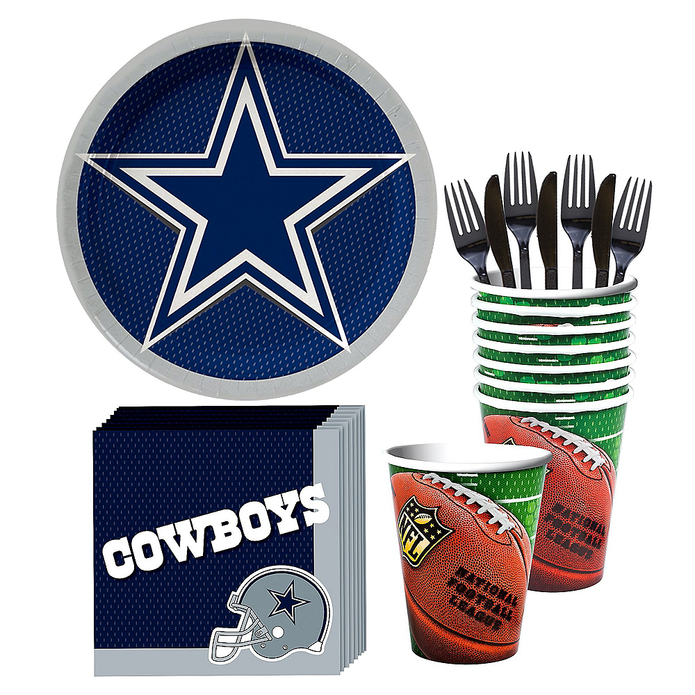 Dallas Cowboys Party Kit for 18 Guests Image #1