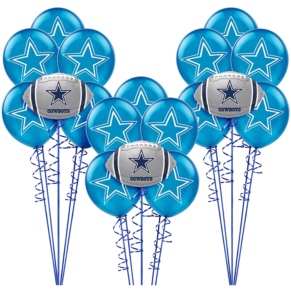 Dallas Cowboys Balloon Kit Image #1
