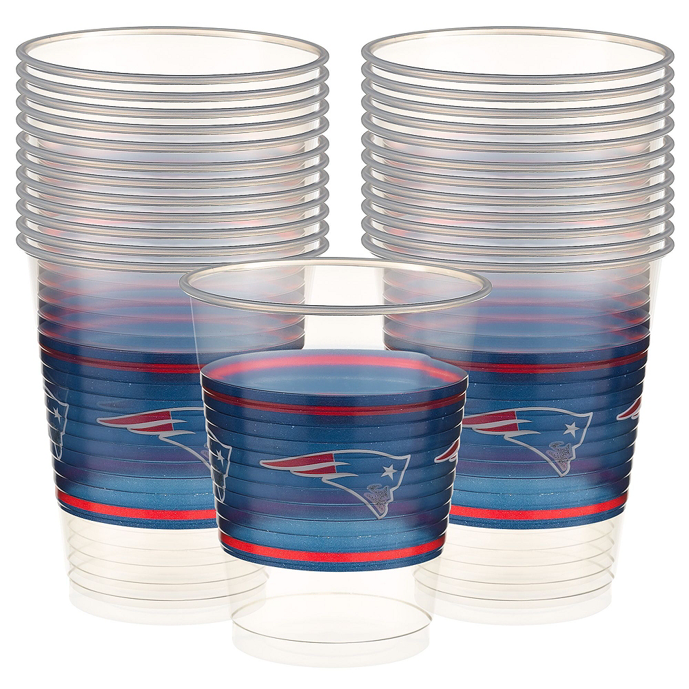 New England Patriots Basic Party Kit for 18 Guests Image #4