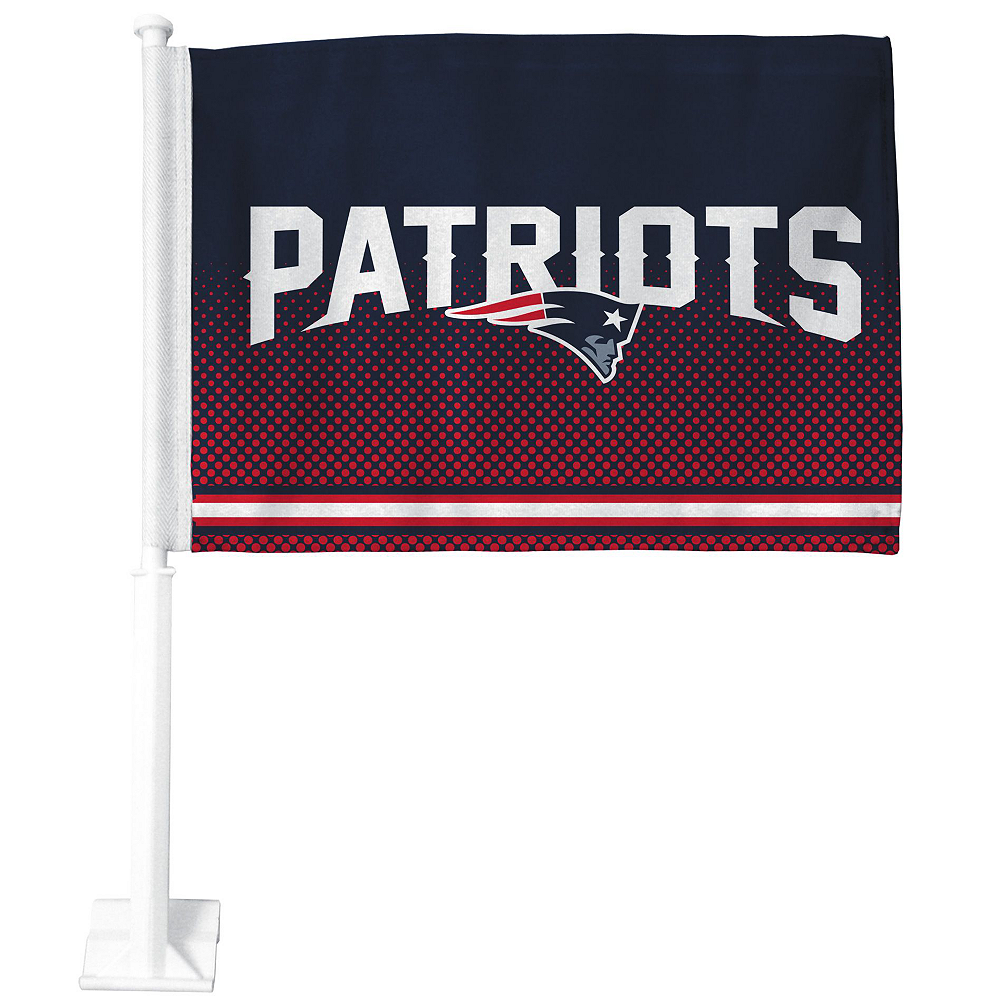 New England Patriots Car Decorating Tailgate Kit Image #3