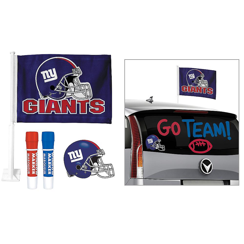 New York Giants Car Decorating Tailgate Kit Image #1