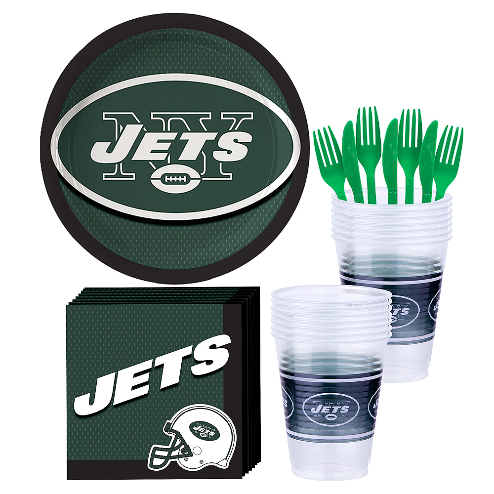 New York Jets Party Kit for 18 Guests Image #1