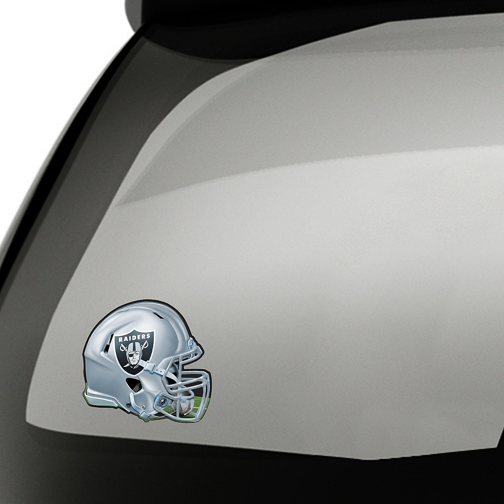 Oakland Raiders Car Decorating Tailgate Kit Image #2
