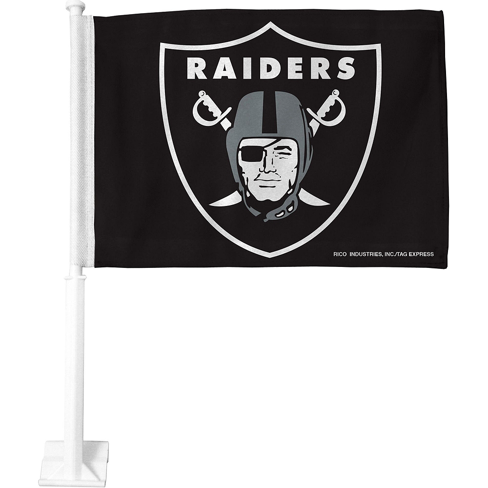 Oakland Raiders Car Decorating Tailgate Kit Image #3