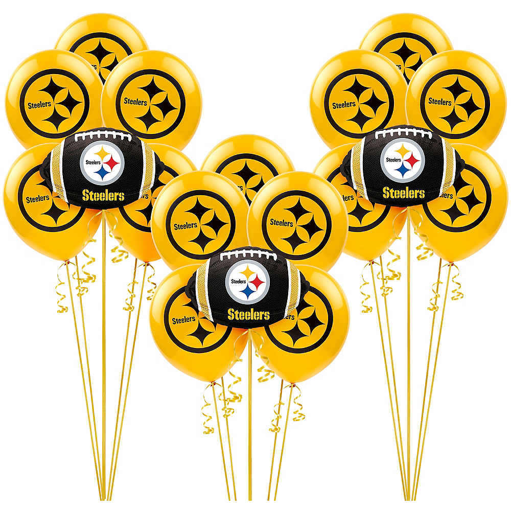 Pittsburgh Steelers Balloon Kit Image #1