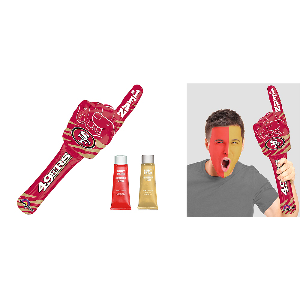Nav Item for San Francisco 49ers Game Day Kit Image #1