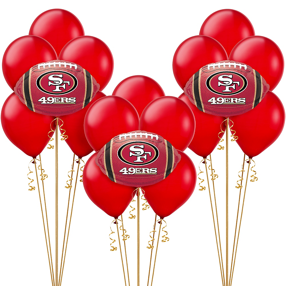 San Francisco 49ers Balloon Kit Image #1