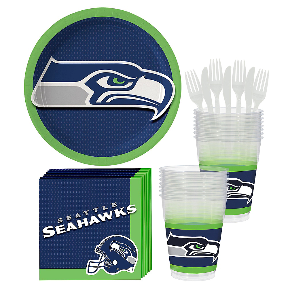 Seattle Seahawks Party Kit for 18 Guests Image #1