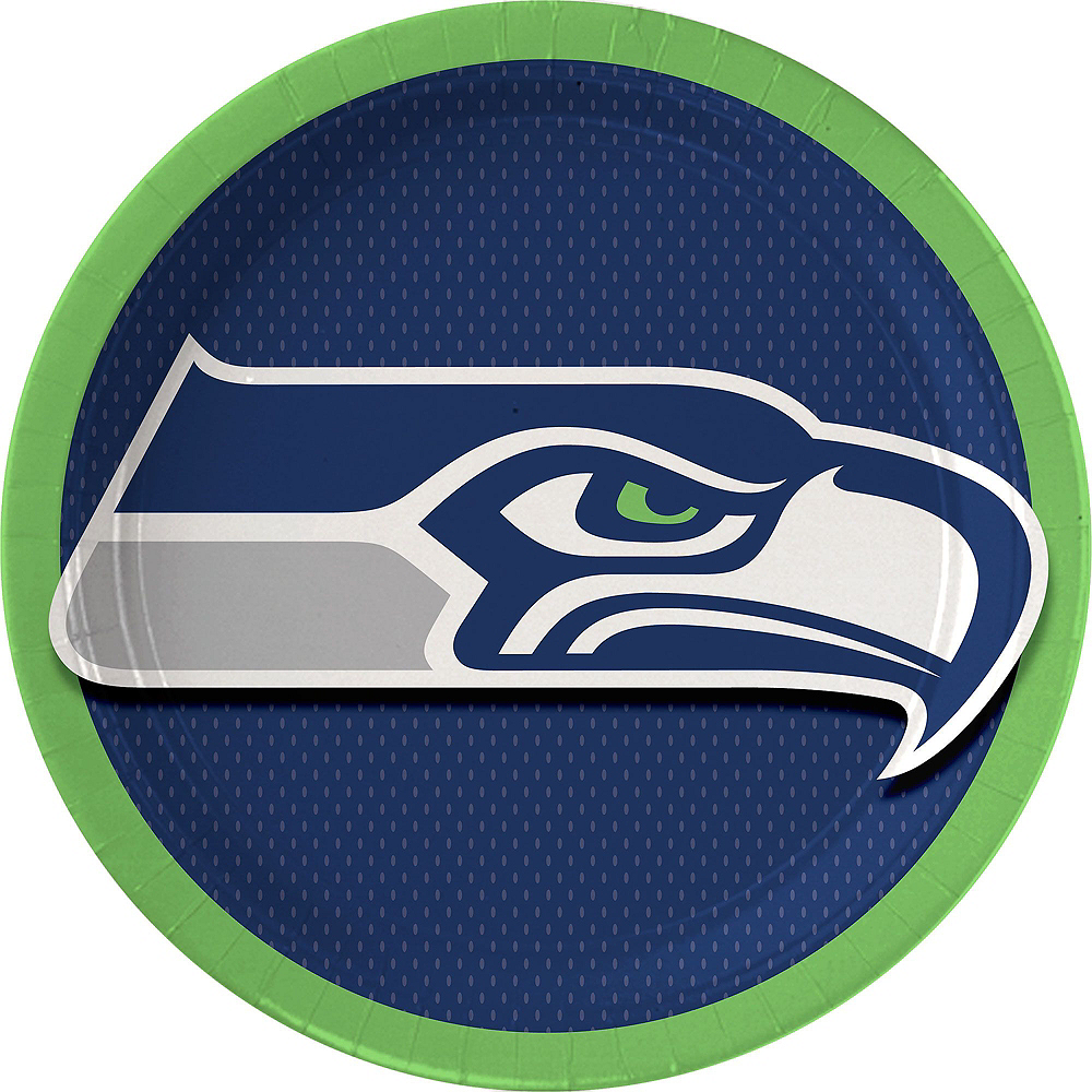 Seattle Seahawks Party Kit for 18 Guests Image #2