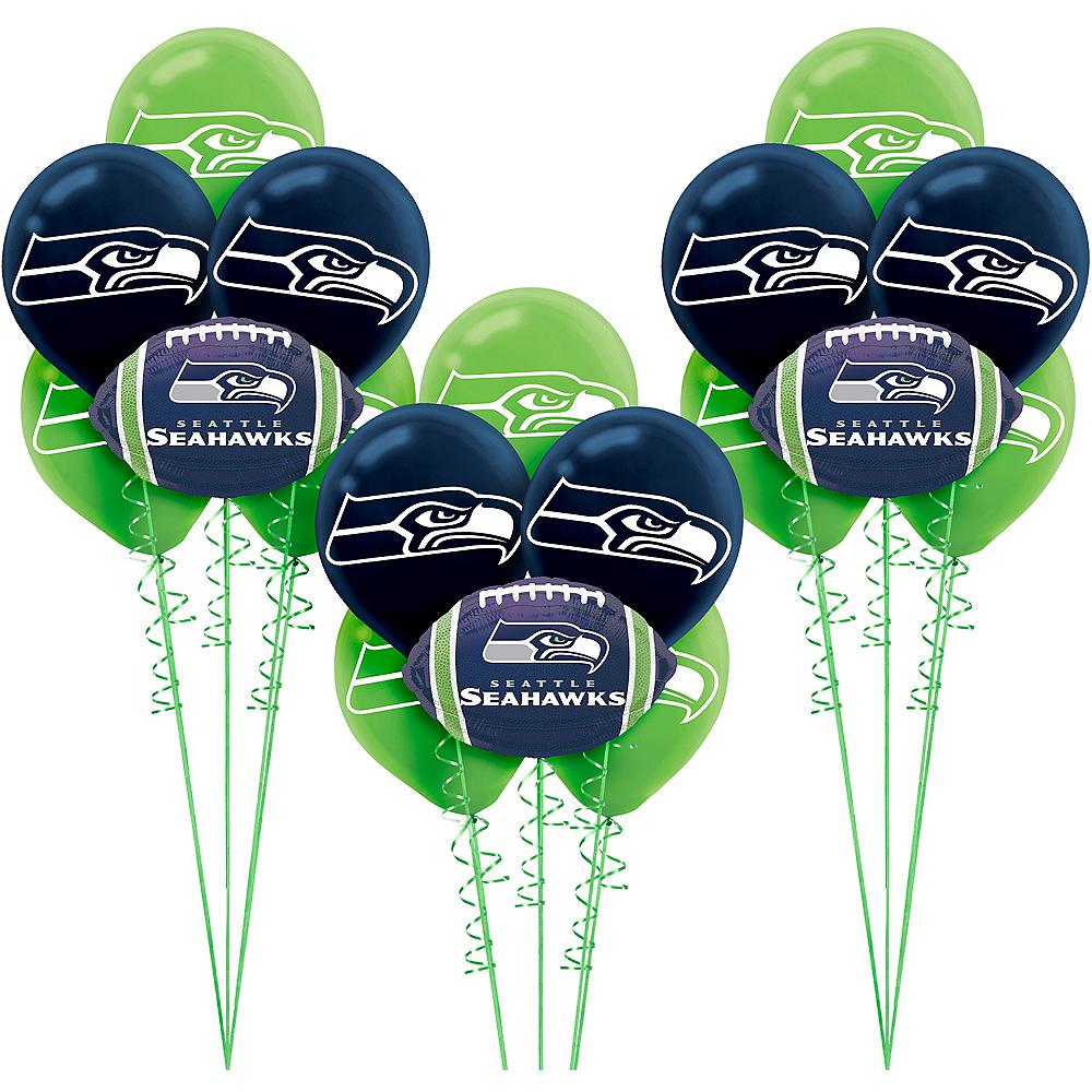 Seattle Seahawks Balloon Kit Image #1
