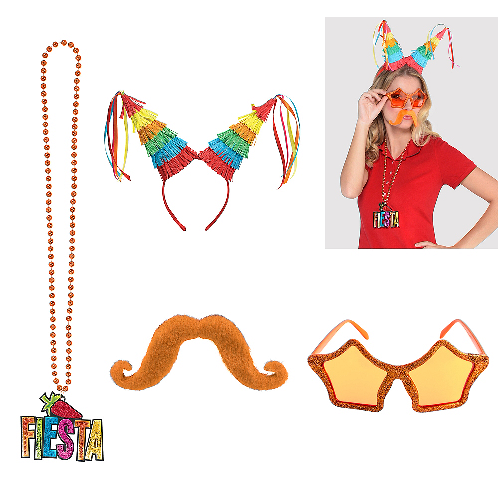 Pinata Fiesta Super Accessory Kit Image #1