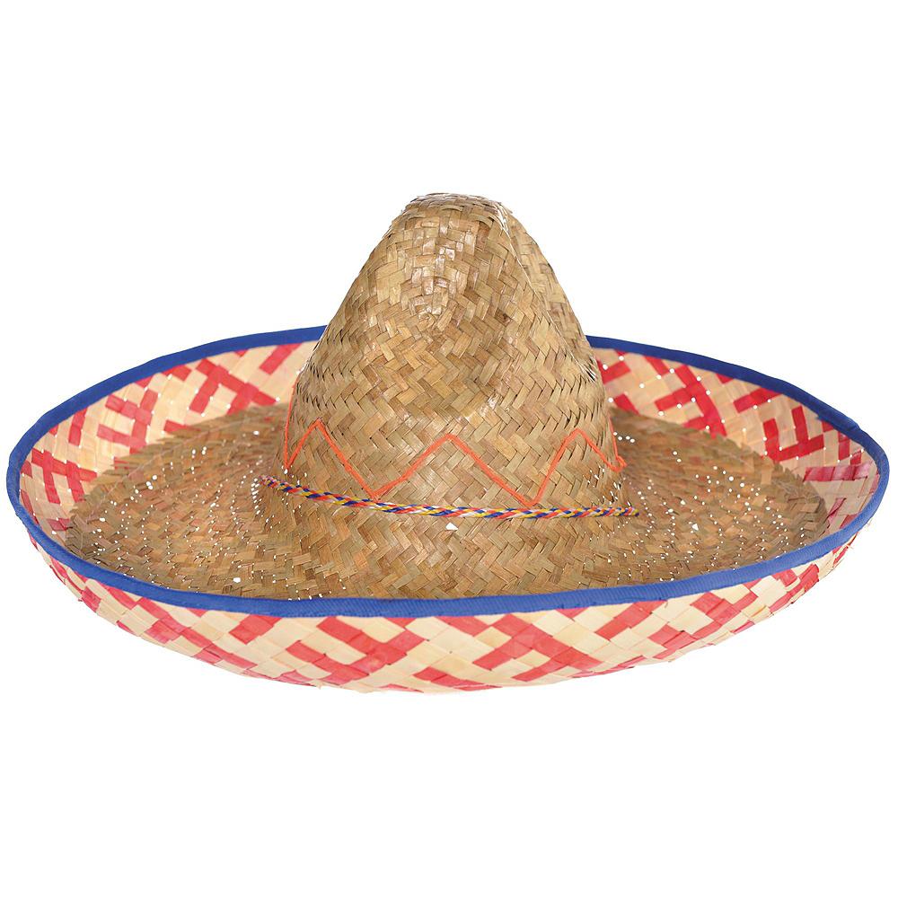 Adult Sombrero Fiesta Costume Image #4